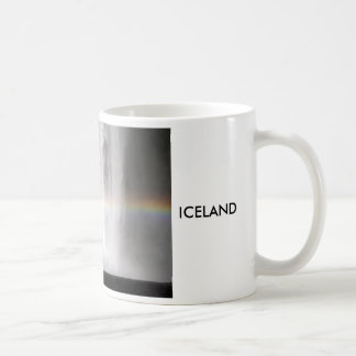Beautiful waterfall in Iceland Coffee Mug
