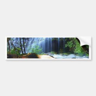 Beautiful Waterfall Jungle Landscape Bumper Sticker