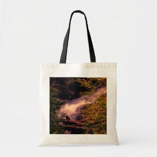 Beautiful Waterfall Landscape Photo Budget Tote Bag