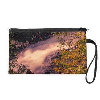 Beautiful Waterfall Landscape Photo Wristlets