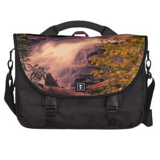 Beautiful Waterfall Landscape Photo Computer Bag