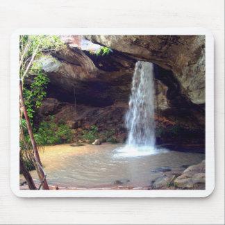 Beautiful  waterfall mouse pad