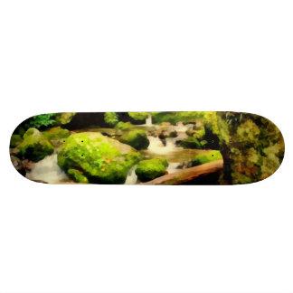 Beautiful waterfall skate boards