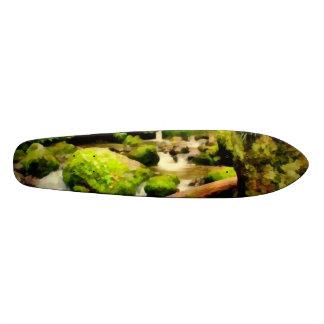 Beautiful waterfall skateboard decks