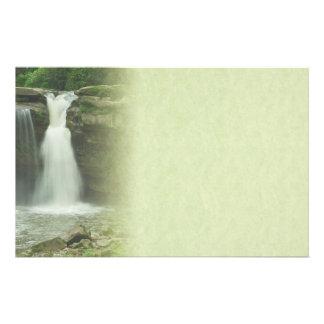 Beautiful Waterfall Stationery