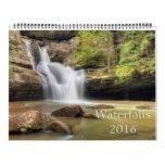 Beautiful Waterfalls Calendar