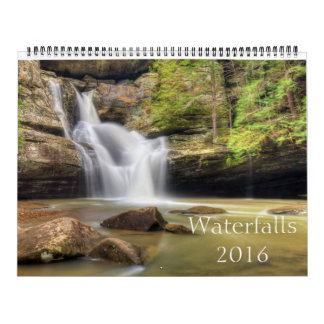 Beautiful Waterfalls Calendar