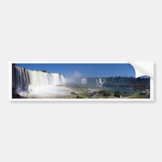 Beautiful waterfalls in Brazil - Iguazu Falls Bumper Sticker