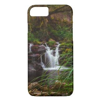 Beautiful Waterfalls Nature Scene iPhone Case