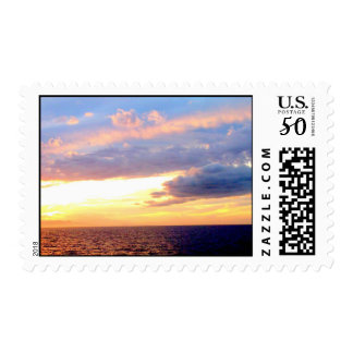 Beautiful waters and skys stamp