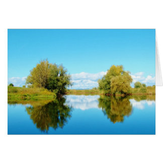 Beautiful Waterscape - Greeting card