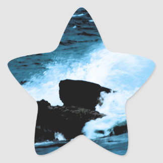 Beautiful Wave Star Sticker