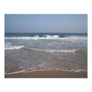 Beautiful waves custom announcement