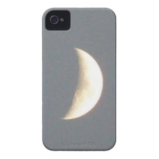 Beautiful Waxing Crescent Moon at Dusk Blackberry  iPhone 4 Case-Mate Case