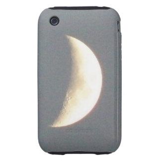 Beautiful Waxing Crescent Moon at Dusk iPhone Case