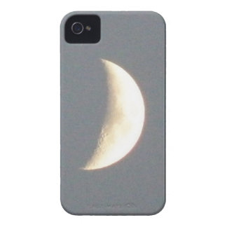 Beautiful Waxing Crescent Moon at Dusk iPhone Case