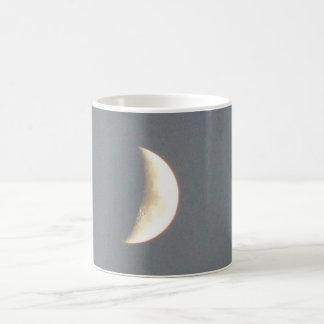 Beautiful Waxing Crescent Moon at Dusk Mug