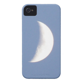 Beautiful Waxing Crescent Moon in Daylight iPhone  iPhone 4 Case-Mate Case