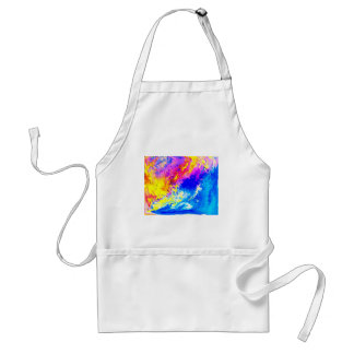 Beautiful weather adult apron
