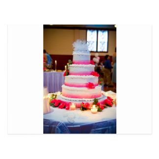 Beautiful Wedding Cake Postcard