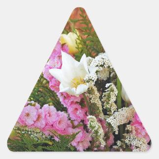 Beautiful wedding flowers arrangement sticker