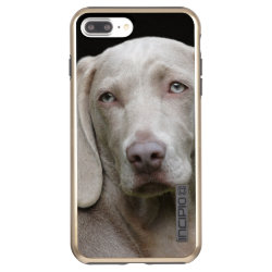 Incipio DualPro Shine iPhone 7 Plus Case with Weimaraner Phone Cases design