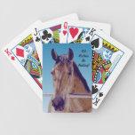 Beautiful Western Horse Card Decks