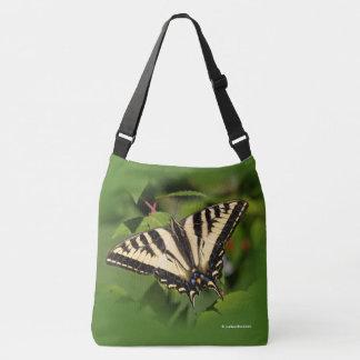 Beautiful Western Tiger Swallowtail Butterfly Crossbody Bag