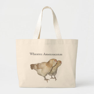 Beautiful Wheaten Ameraucana Chickens Canvas Bag