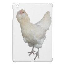 Beautiful Wheaten Ameraucana Chickens Case For The iPad Mini