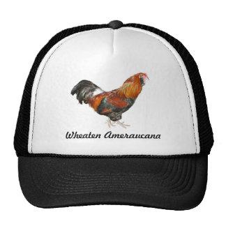 Beautiful Wheaten Ameraucana Chickens Trucker Hats