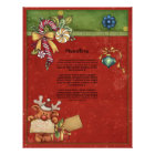Beautiful, whimsical Christmas design Letterhead