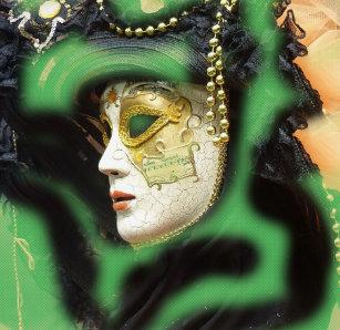 b2d8cc46b5 Women's Carnival Masks Leggings | Zazzle