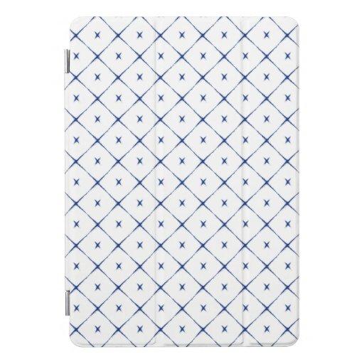 Beautiful white/blue Japanese cartridge iPad Pro Cover