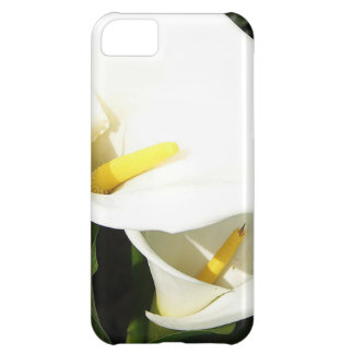Beautiful White Calla Flowers In Bright Sunlight Cover For iPhone 5C