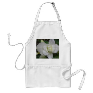 Beautiful White Carnation Apron