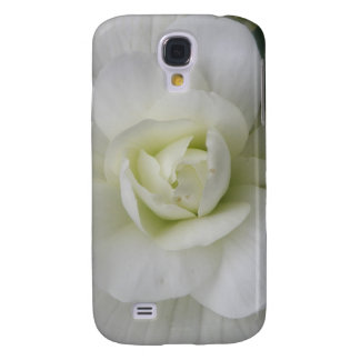 Beautiful White Carnation  Samsung Galaxy S4 Case