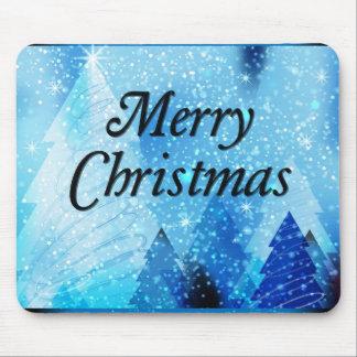Beautiful, White Christmas Mouse Pad