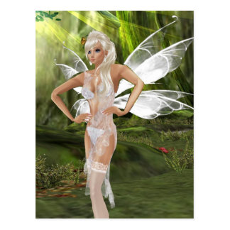 Beautiful white fairy