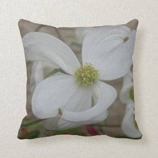 Beautiful White flower Pillow