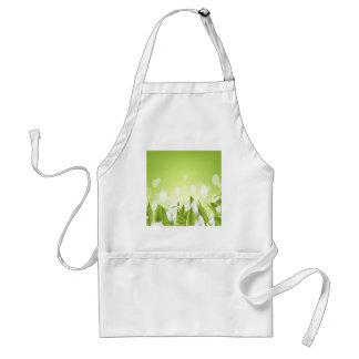 Beautiful White Flowers Adult Apron