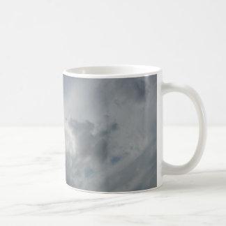 Beautiful White Fluffy Clouds Coffee Mug