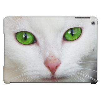 Beautiful white kitty cat kitten animal lover cover for iPad air