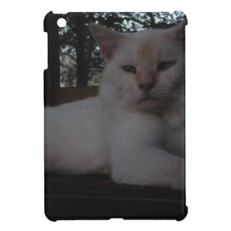 Beautiful White, long haired cat iPad Mini Cover