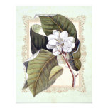 Beautiful White Magnolia Formal Dinner Party Personalized Invitation