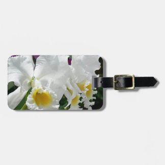 Beautiful White Orchids in Thailand Luggage Tag