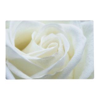 Beautiful White Rose Placemat