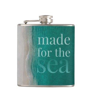 Beautiful White Sandy Beach Flask