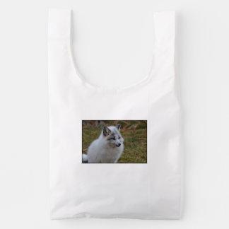 Beautiful White Swift Fox Reusable Bag