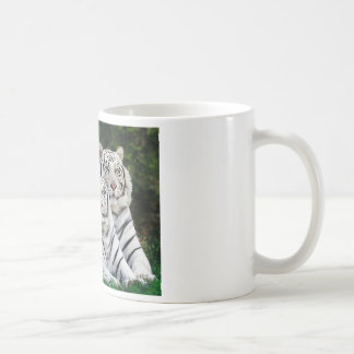 Beautiful White Tigers Coffee Mug